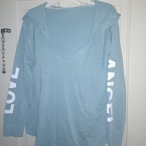 Nearly New Victoria Secret Angle Hoodie M